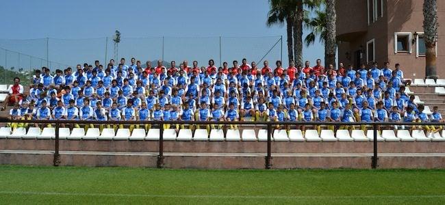 Comienza el décimo Campus de Fútbol Marbella