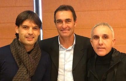 Aldana y Morientes en una jornada técnica en Estepona